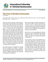 Cost of broken covenants