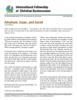 Abraham, Issac, Jacob